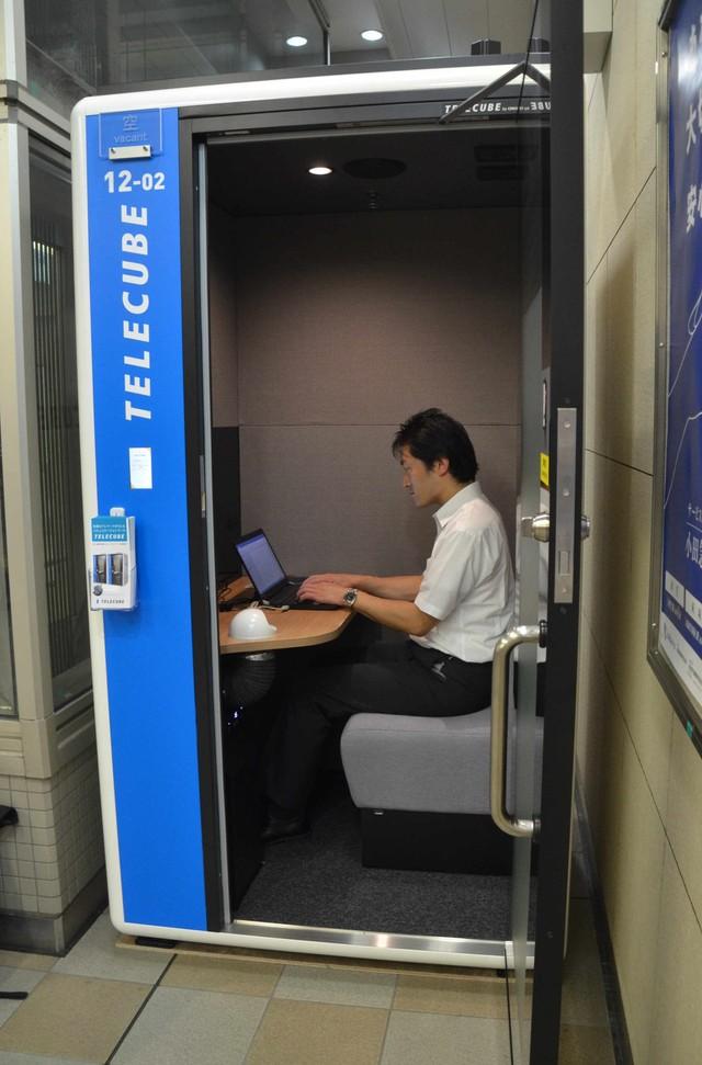 東京都內擴增獨立空間型辦公室 於車站內等處接連登場