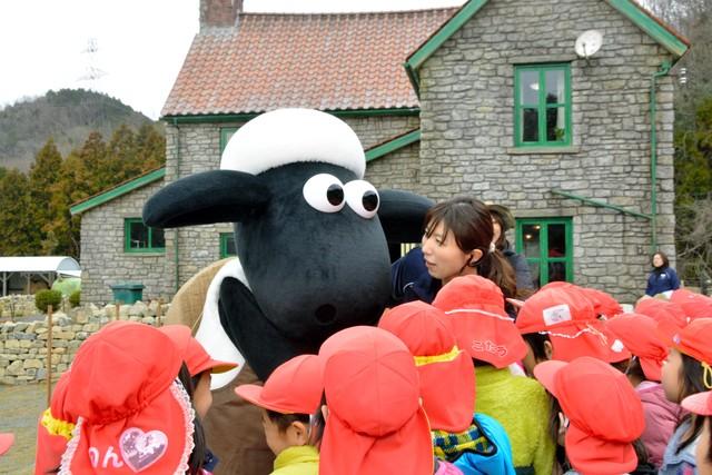 真實版《笑笑羊》牧場誕生 全球首座遊樂設施落腳滋賀