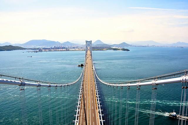 從高175公尺的主塔瞭望大海 瀨戶大橋觀光行程開跑(影片)