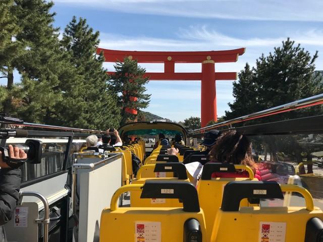 京都雙層周遊巴士上路 每天開放17班次任您搭