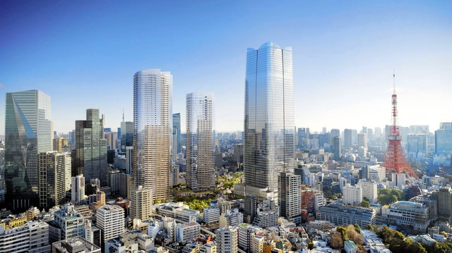 東京將建日本第1超高層大樓 330公尺超越阿倍野HARUKAS