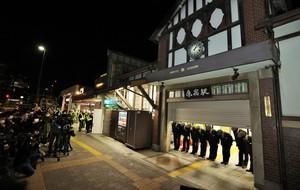 原宿舊站舍「96年來謝謝」 玻璃鋪設的新站舍開幕(影片)
