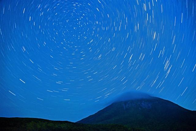 繁星轉動的迷人星空 世界遺產「知床」絕佳觀星處