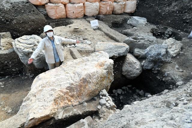 京都‧室町時代「花之御所」 發現展示將軍權力的巨石