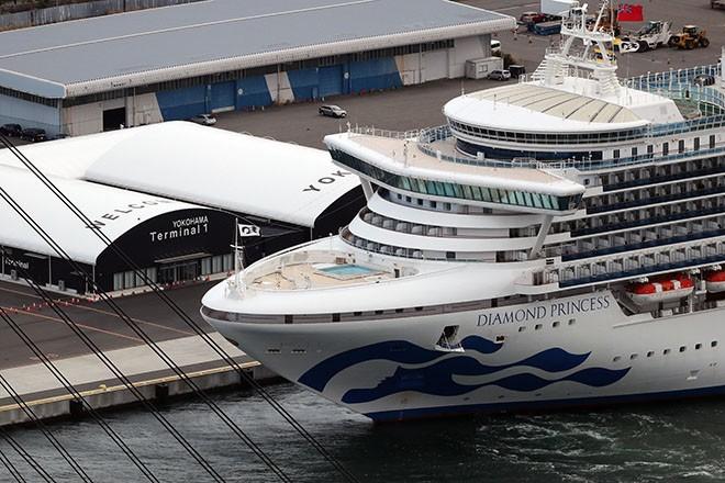 Cruise ship in lockdown over Coronavirus fears