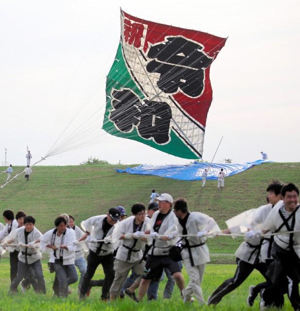 埼玉傳統活動大風箏節 迎風飄揚慶祝令和元年(影片)
