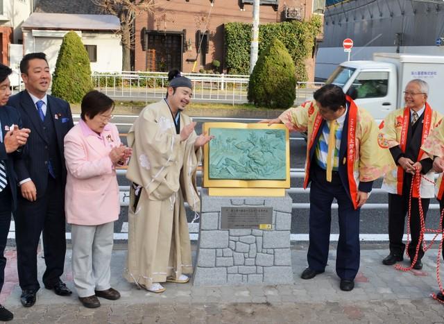 名古屋「夢街道」設30座紀念碑 分別以不同場景介紹秀吉人生