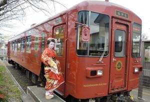 長良川「舞妓列車」復活 車內品酒欣賞宴席表演(影片)