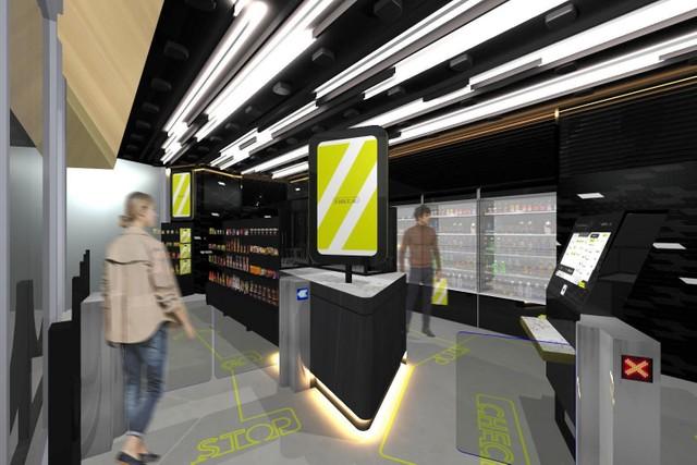 「未來車站」高輪Gateway 導入機器人與無人超商自助結帳