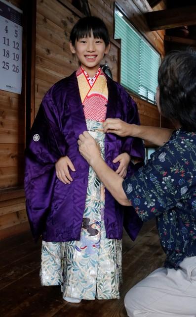 島田大祭因應少子化 「殿下大人」時隔111年由女童擔任
