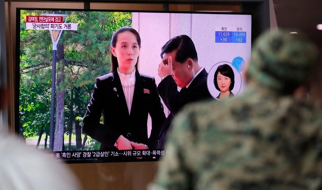 KOREA Pyongyang threatens closure of Liaison Office with South over defamatory flyers