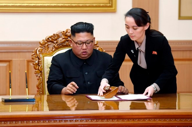 Kim's sister threatens to scrap military agreement
