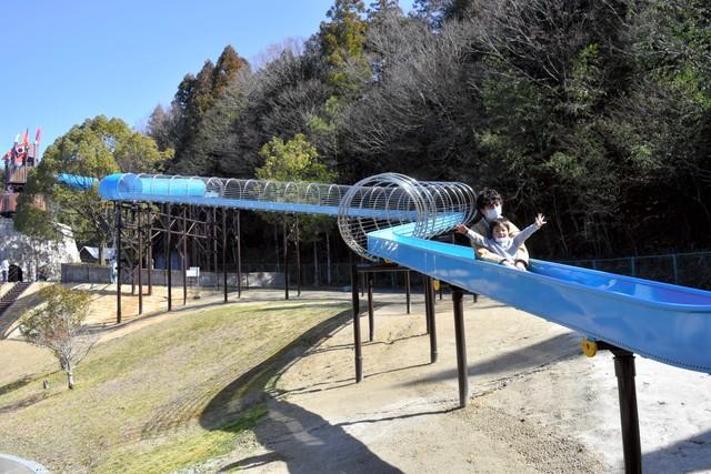 急速滑行180公尺! 超~長滾輪滑梯於岐阜完工
