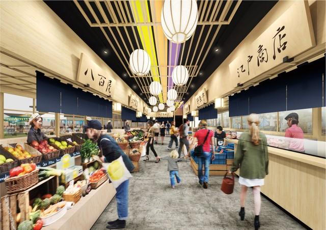 豐洲市場暫定集客設施明年1月開幕 主題為「江戶前」