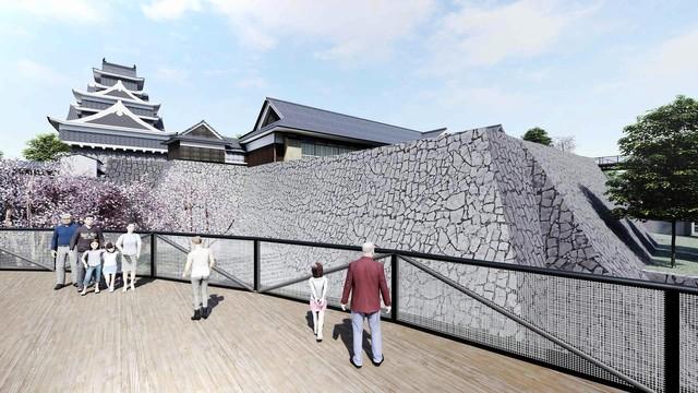 熊本城修復工程進行中 4月29日起特別開放近距離欣賞櫓群