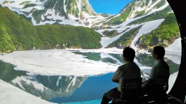 透過小型無人機遨遊立山美景 室堂設置體驗裝置限期3天
