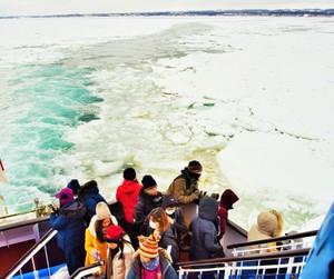 流冰觀光船台港等遊客熱鬧搭乘 「新型肺炎幾無影響」(影片)