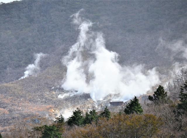 箱根山噴發警戒調降為1級 町方將準備解除「大涌谷」管制