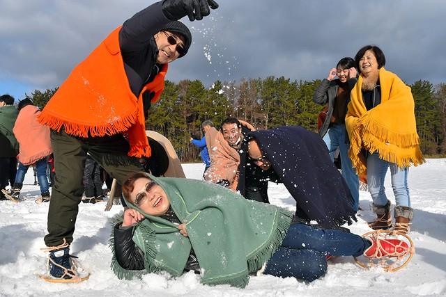 青森縣不畏少雪展開雪體驗行程 台灣旅客「覺得感動!」