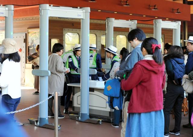 東京迪士尼入園導入X光機 迎接2020奧運強化安全保護對策