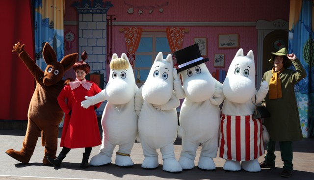 來埼玉縣體驗「嚕嚕米」世界 主題樂園16日開幕
