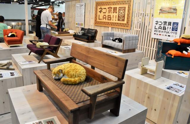 福岡·大川木工節登場 貓咪家具今年也大受歡迎