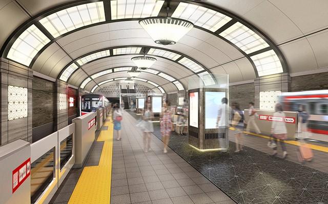 從「品味好差」變成雅致路線? 大阪地鐵變更車站改裝設計