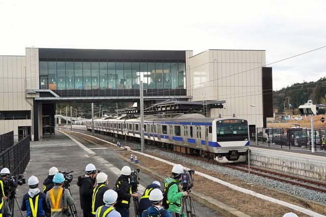 福島核災後時隔9年 常磐線3月14日將全面重啟行駛