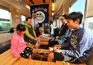 近鐵「足浴列車」上路 從名古屋開往湯之山溫泉♨(影片)