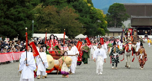 新時代的歷史繪卷華麗登場 令和最初的京都「時代祭」