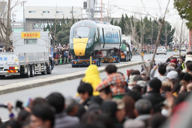 歡送高鐵車廂赴英國 山口‧下松市7月舉辦參觀活動