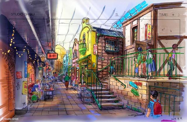 重現《神隱少女》小吃街景象 吉卜力公園2022年秋天開幕