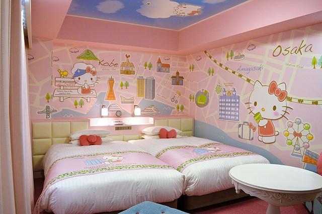 兵庫‧尼崎飯店鎖定粉絲客群 「Hello Kitty客房」新裝登場