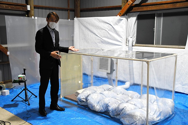 Abrigos do tamanho de uma cama oferecem proteção em residências contra o coronavírus 1