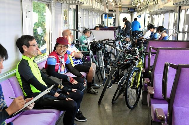 攜帶自行車出遊也OK 島波海道「兩鐵列車」秋季上路