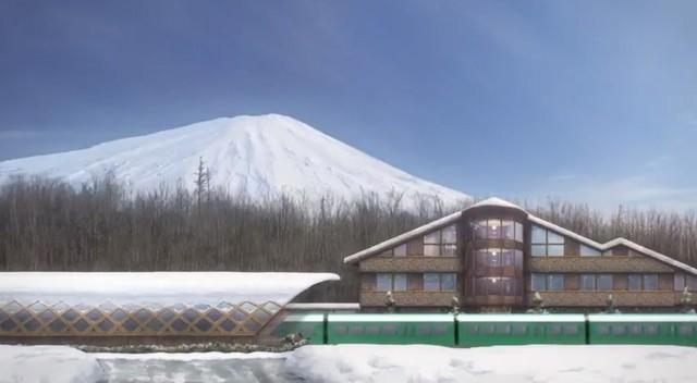 百年夢想奔馳? 山梨縣舉辦富士山登山鐵路學習會