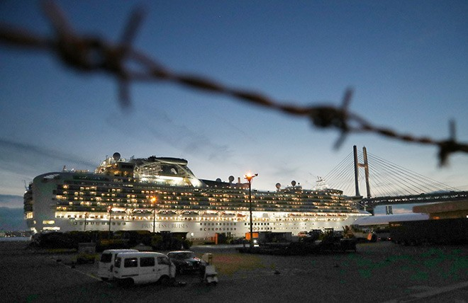 Golden Princess passengers in quarantine