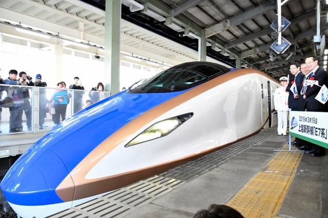 上越新幹線最高時速240→275公里 東京至新潟車程縮短8分鐘