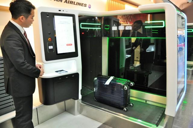羽田搭JAL也可自助託運行李 最繁忙時段所需時間30→5分