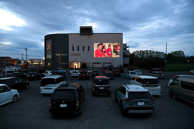Drive In Theaters Making A Comeback Amid Pandemic The Asahi Shimbun