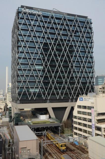日本首見高樓底下電車奔馳 「DaiyaGate池袋」即將登場