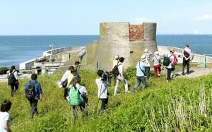 東京灣要塞「第二海堡」 全面開放團客登島觀光(影片)