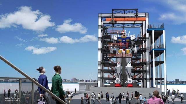 「阿姆羅、出發!」 横濱·山下碼頭可動鋼彈10月起開放參觀