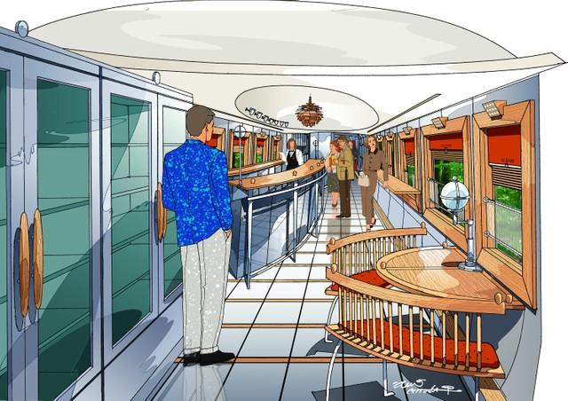 JR九州發表新觀光列車內裝 燕子號附吧檯商店復活