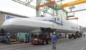 公開搬運新型N700S前頭車 為7月上路一步步做準備(影片)