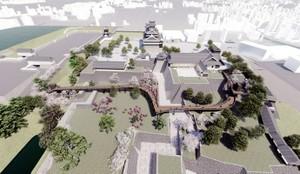 透過CG影像搶先眺望熊本城 今秋將重新開放參觀(影片)