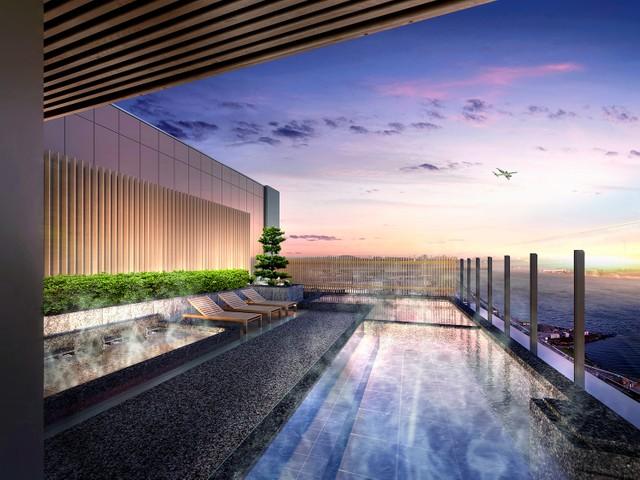 羽田機場出現天然溫泉及河景飯店 新複合設施4月開幕