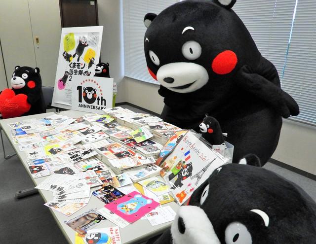 熊本熊喜收5958張賀年卡將親筆回信 其中也有來自台灣粉絲
