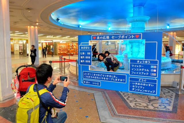 大阪‧梅田著名會面點即將消逝… 民眾不捨告別「噴泉廣場」