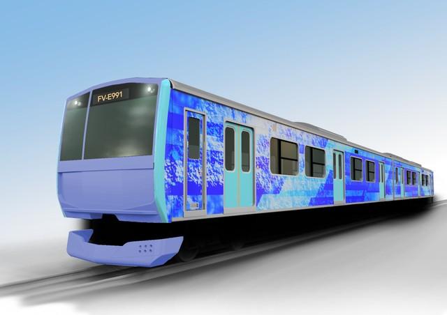 氫能驅動的混合動力鐵路車輛 JR東日本將進行開發